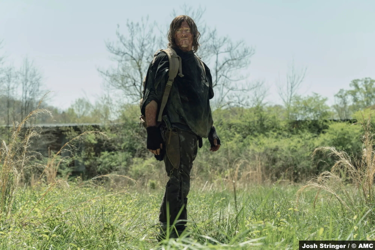 The Walking Dead S11e04: Norman Reedus as Daryl