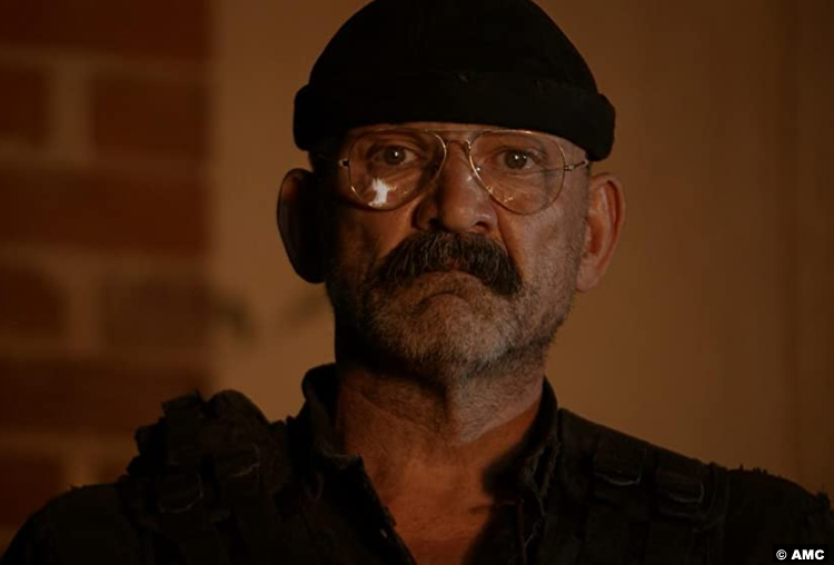The Walking Dead S11e04: Ritchie Coster as Pope