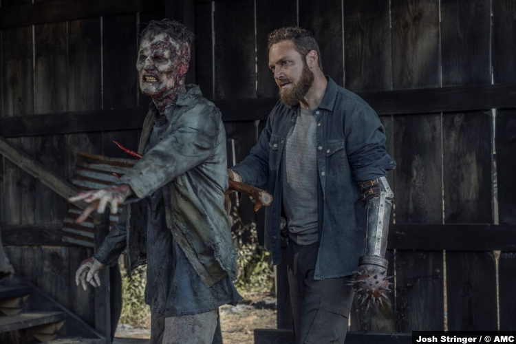 The Walking Dead S11e05: Ross Marquand as Aaron