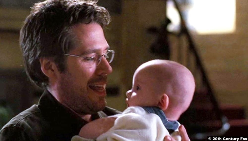 Angel S03e16: Alexis Denisof as Wesley Wyndam-Pryce with Connor