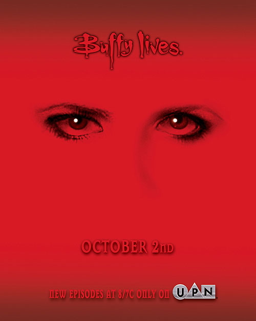 Buffy Lives Poster