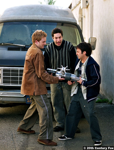 Buffy The Vampire Slater S06e11: Tom Lenk, Adam Busch and Danny Strong as Andrew, Warren and Jonathan
