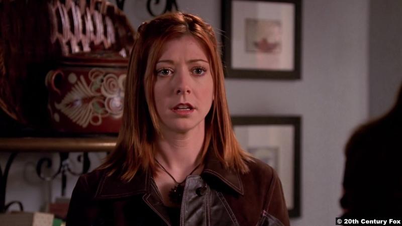 Buffy The Vampire Slayer S06e10: Alyson Hannigan as Willow