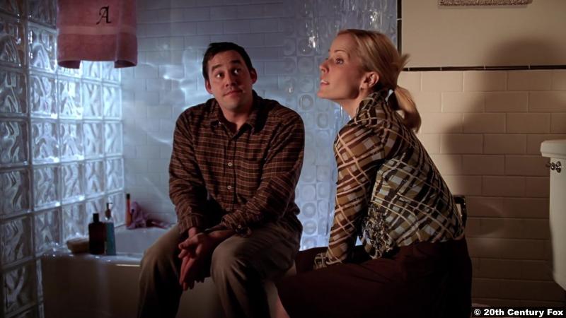Buffy The Vampire Slayer S06e15: Nicholas Brendon and Emma Caulfield as Xander and Anya