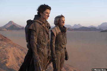 Dune: Timothée Chalamet and Rebecca Ferguson as Paul and Lady Jessica Atreides