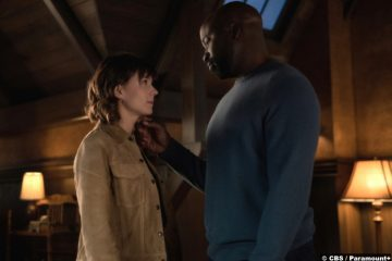 Evil S02e12: Katja Herbers and Mike Colter as Kristen Bouchard and David Acosta