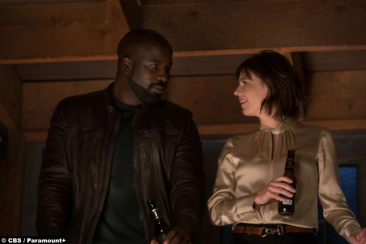 Evil S02e13: Mike Colter and Katja Herbers as David Acosta and Kristen Bouchard