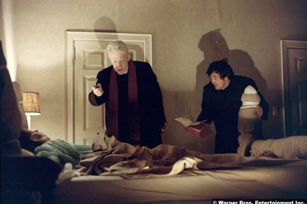 Exorcist: Linda Blair, Max von Sydow and Jason Miller