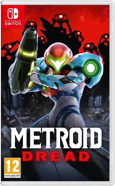 Metroid Dread Cover