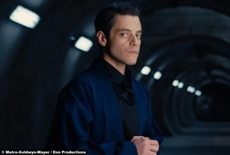 No Time to Die: Rami Malek as Lyutsifer Safin