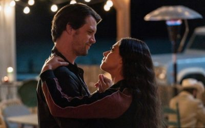 Roswell, New Mexico S03e13: Nathan Parsons and Jeanine Mason as Max Evans and Liz Ortecho