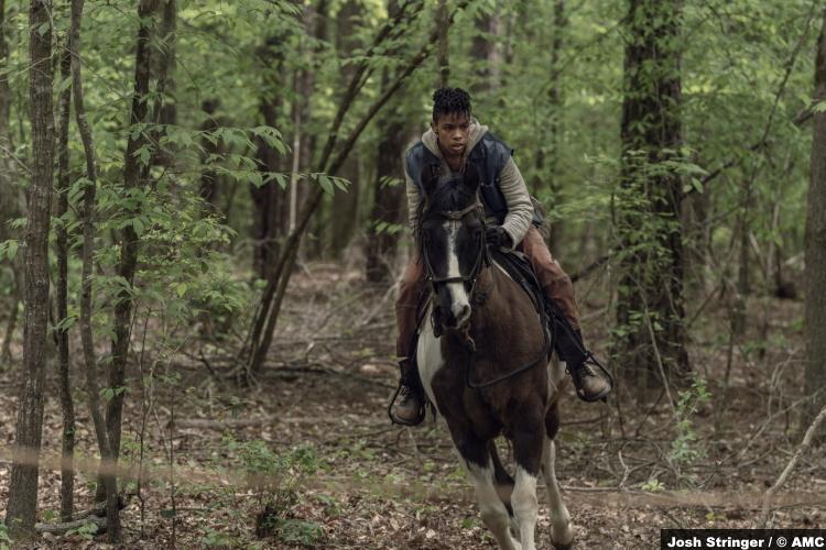 The Walking Dead S11e06: Angel Theory as Kelly