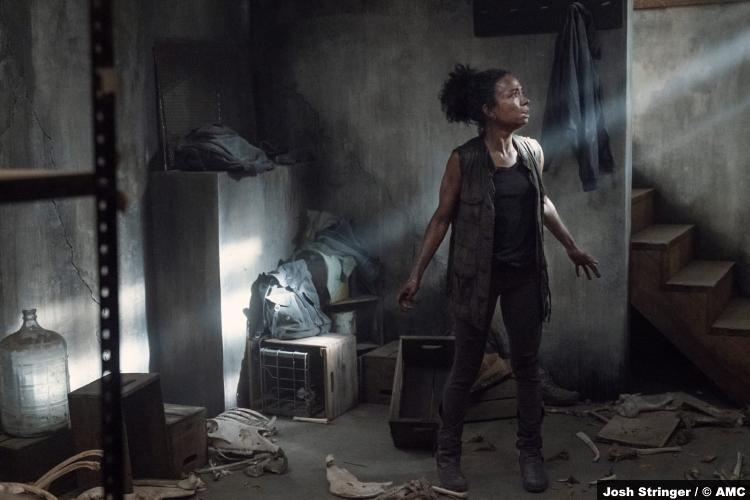 The Walking Dead S11e06: Lauren Ridloff as Connie