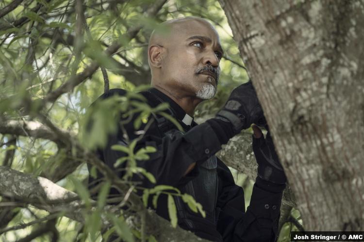 The Walking Dead S11e07: Seth Gilliam as Gabriel