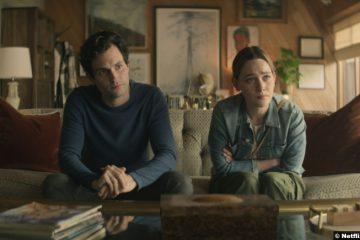 You S03: Penn Badgley and Victoria Pedretti as Joe Goldberg and Love Quinn